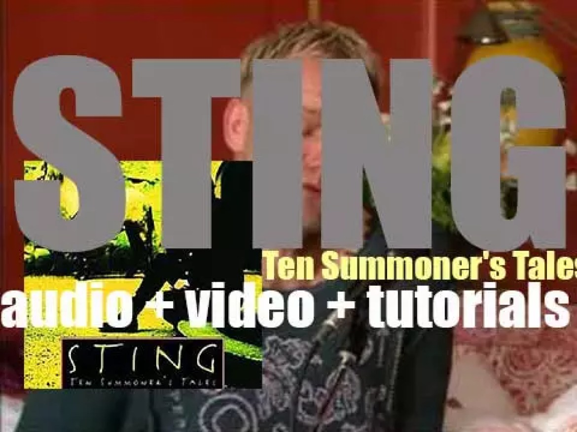 Sting releases his fourth solo album : 'Ten Summoner's Tales'(1993)