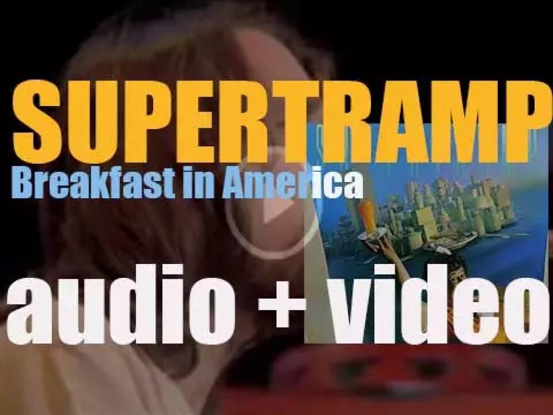 Supertramp release their sixth album 'Breakfast in America' on A&M (1979)