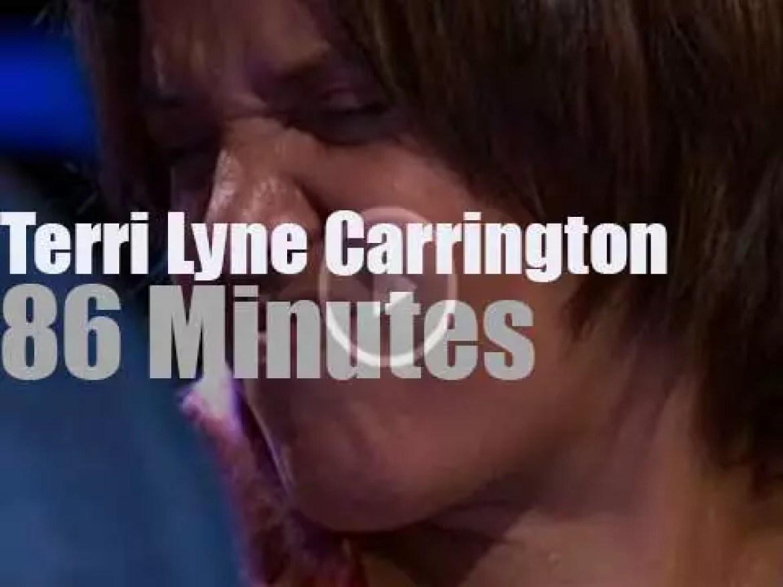 Terri Lyne Carrington at Jazzwoche Burghausen 2014