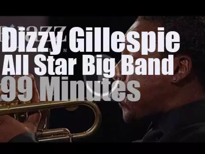 Dizzy Gillespie All Star Big Band is at Jazzwoche Burghausen (2007)