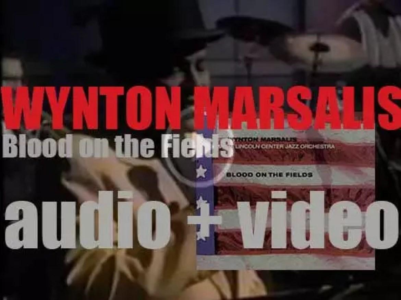 Lincoln Center premieres Wynton Marsalis' oratorio 'Blood on the Fields' (1994)