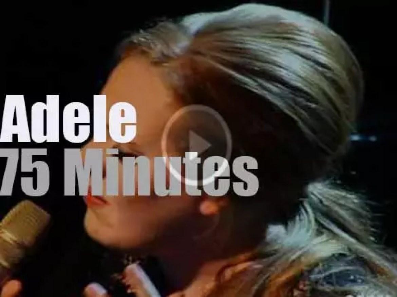 Adele  serenades Paris (2011)