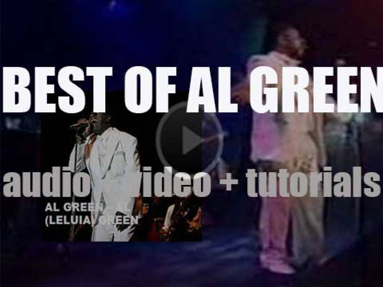 Happy Birthday to Al Green. 'Al(leluia) Green'