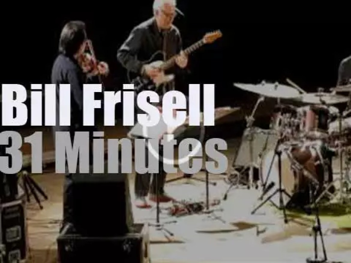 Bill Frisell brings his Trio to Warsaw, Poland (2014)