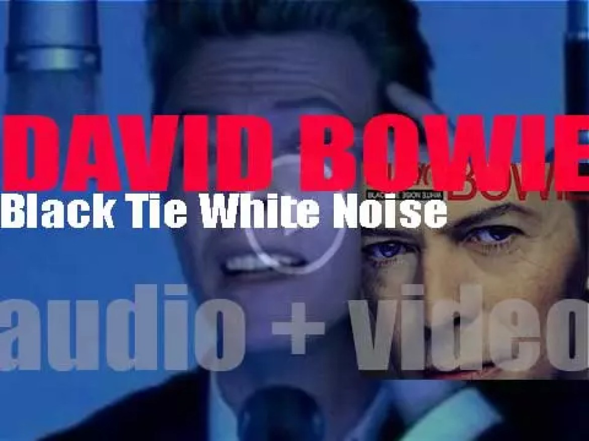 David Bowie releases 'Black Tie White Noise,' his eighteenth album  co-produced with Nile Rodgers (1993)