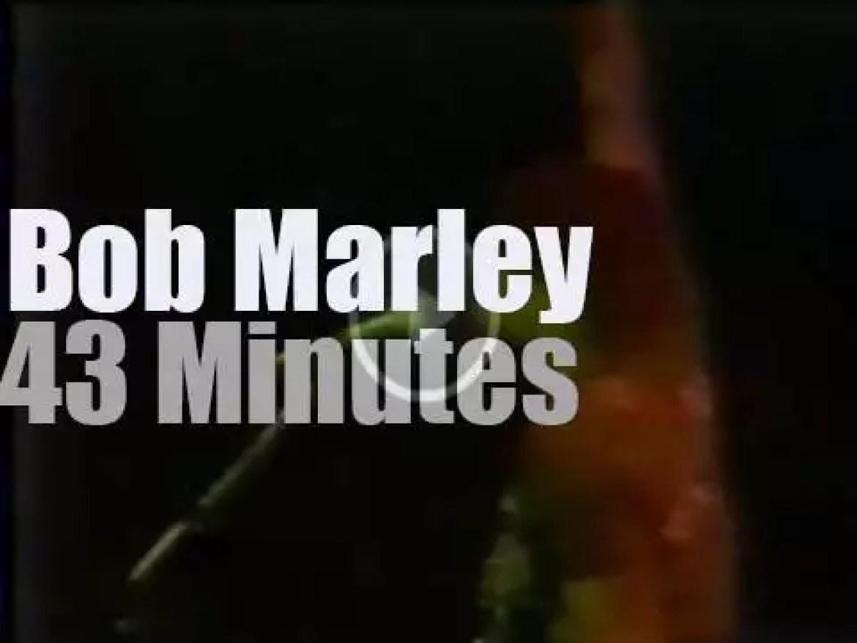 Bob Marley sings at Zimbabwe Independence Ceremony (1980)