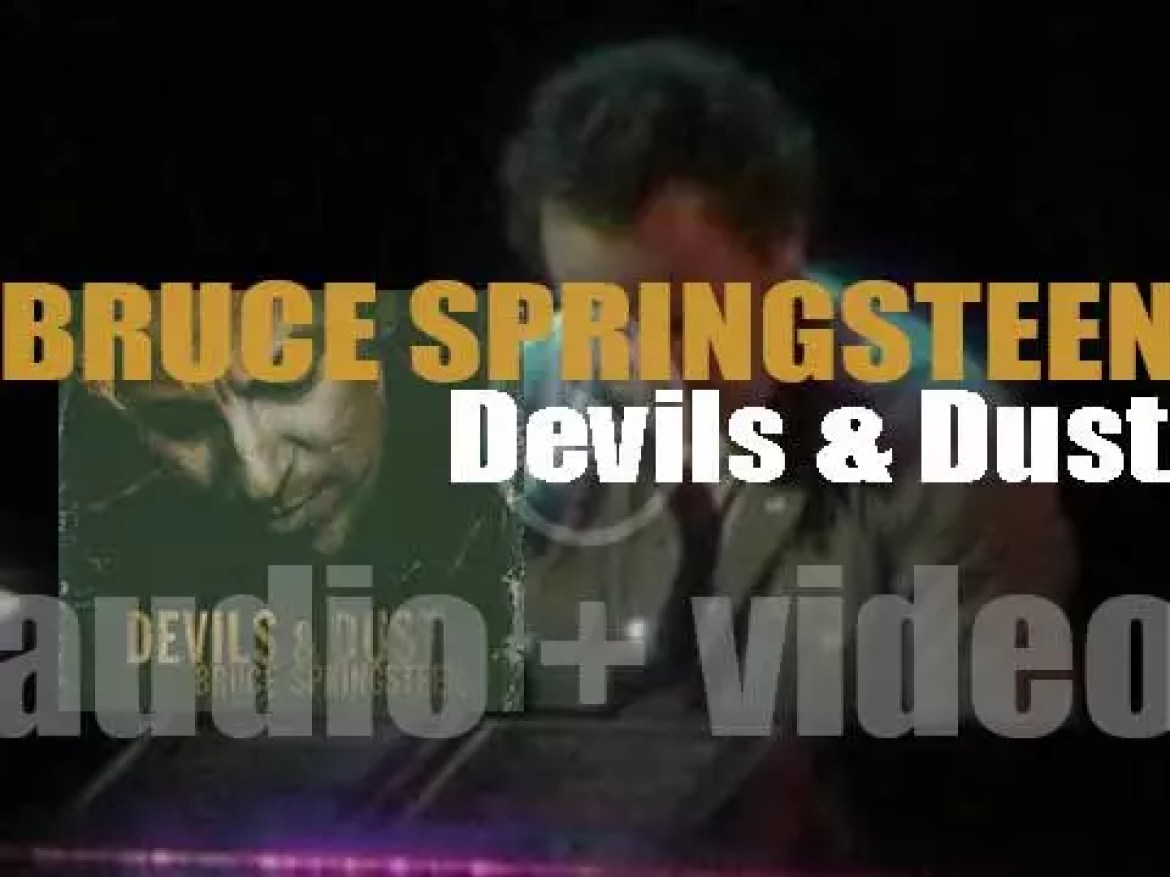 Bruce Springsteen releases 'Devils & Dust,' his thirteenth (and his third acoustic) album (2005)