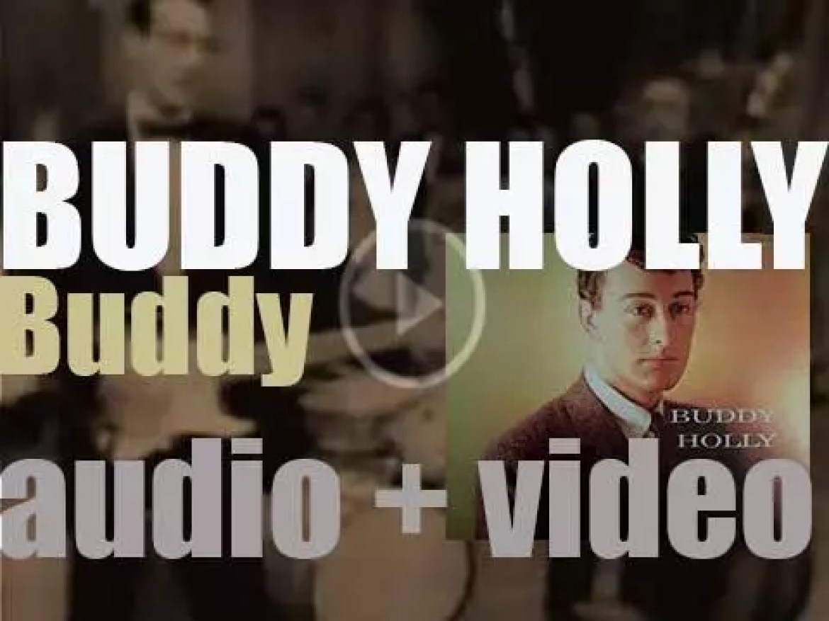 Buddy Holly records his second album 'Buddy' featuring 'Peggy Sue' (1958)
