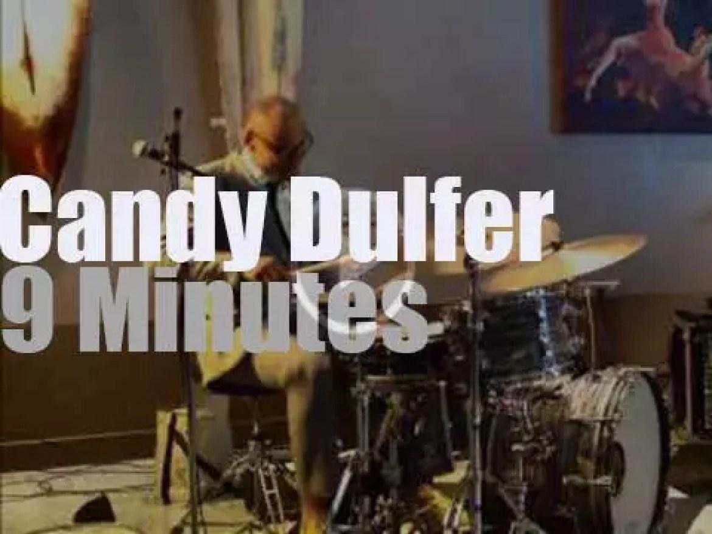 Candy Dulfer plays jazz at a Dutch hotel (2015)