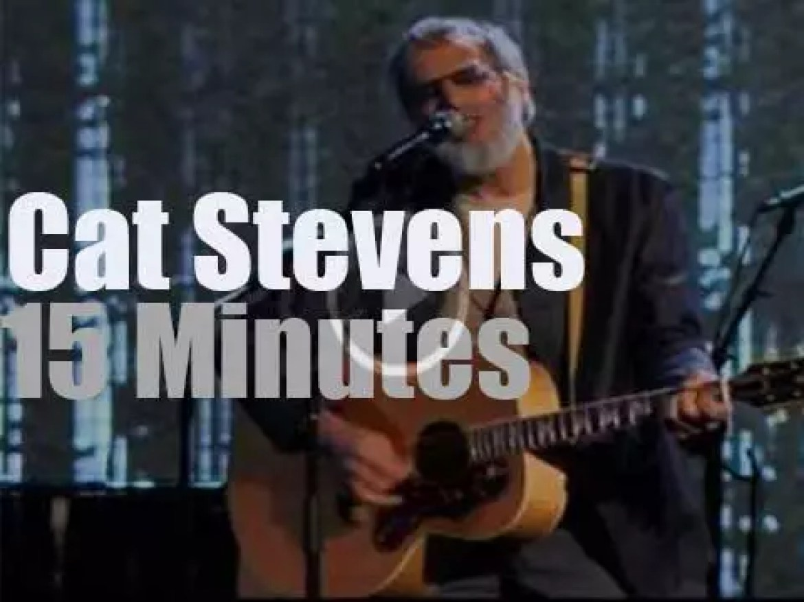 Cat Stevens Rock & Roll Hall of Fame Inductee (2014)