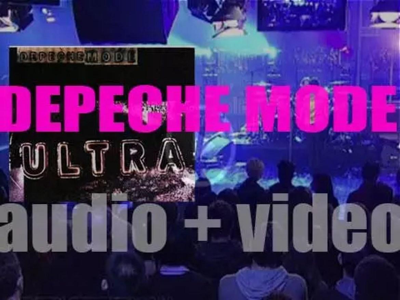 Mute publish Depeche Mode' s ninth album : 'Ultra' produced by Tim Simenon (1997)