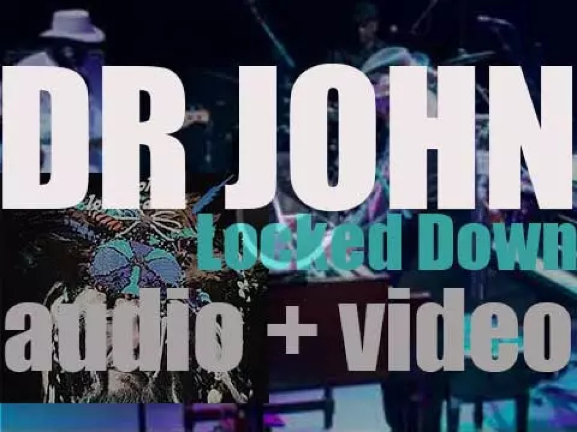 Nonesuch publish Dr. John's album 'Locked Down,' produced by Dan Auerbach (2012)
