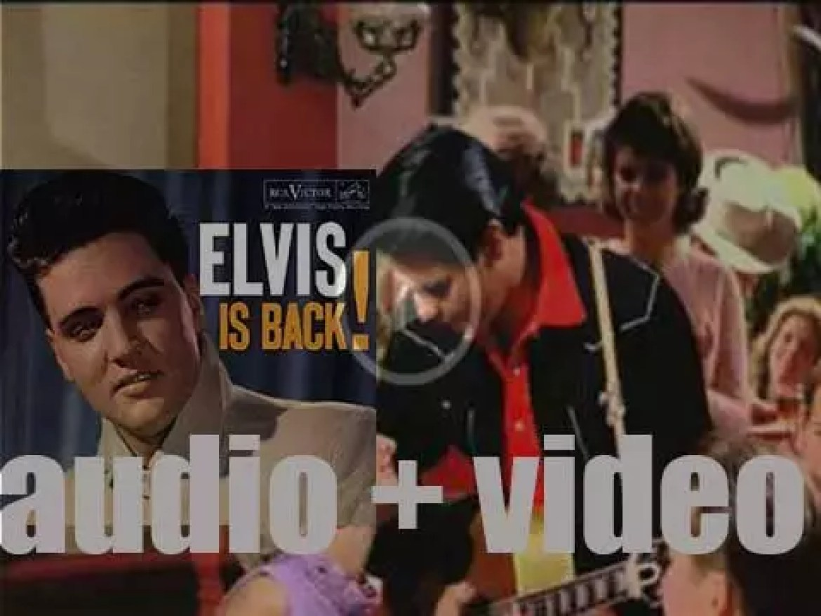 RCA Victor release 'Elvis Is Back!' Elvis Presley's first album after his return from the Army (1960)