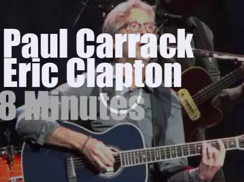 Eric Clapton &  Paul Carrack in Connecticut (2013)