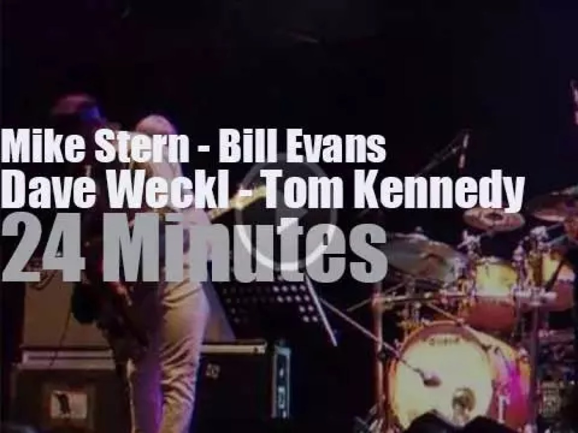 Evans, Stern, Kennedy and Weckl play in Turin (2013)