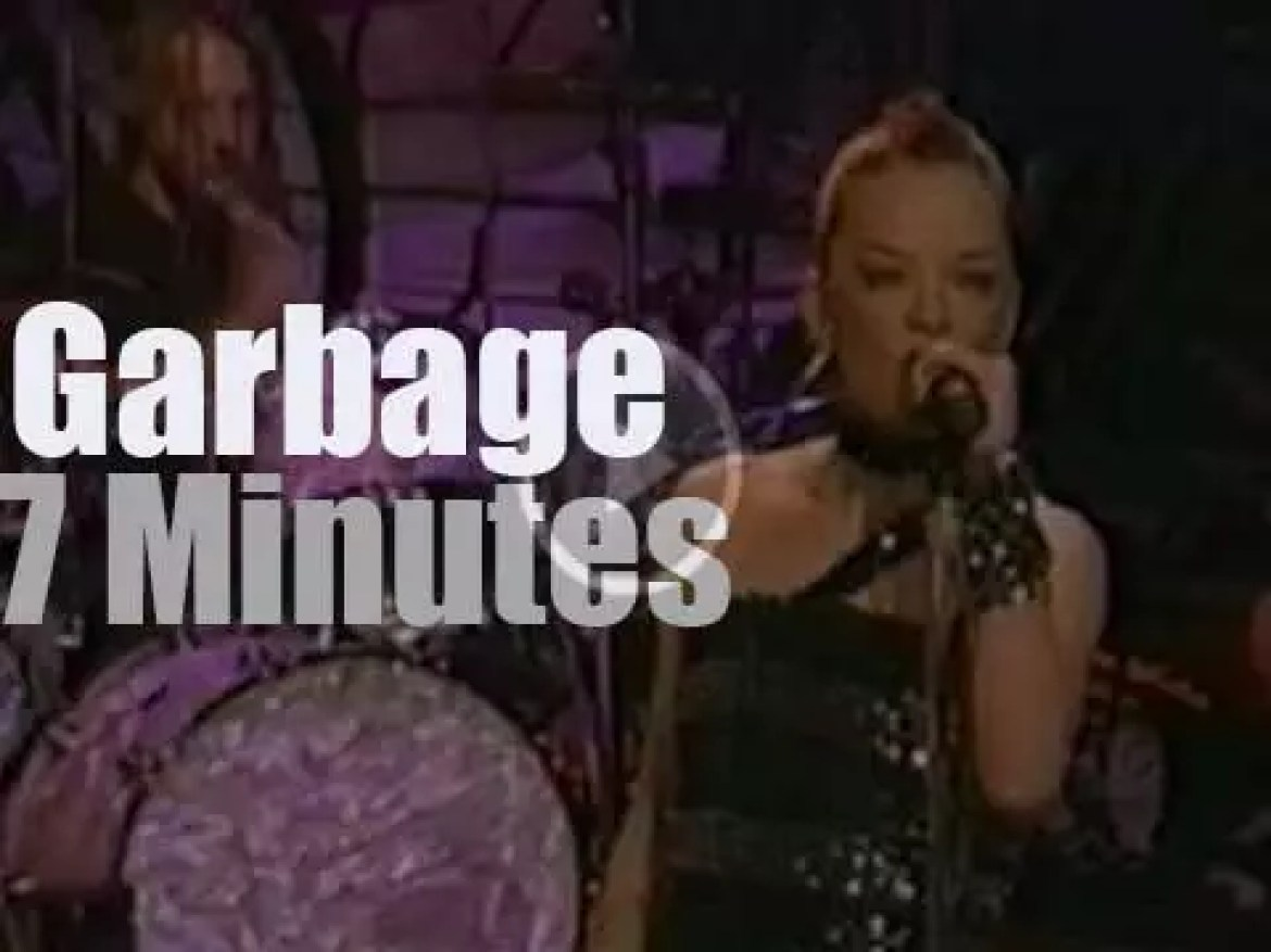 Garbage guest with Jay Leno (1999)