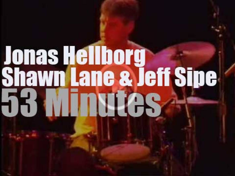 Jonas Hellborg, Shawn Lane & Jeff Sipe meet for Earth Day Celebration (2002)