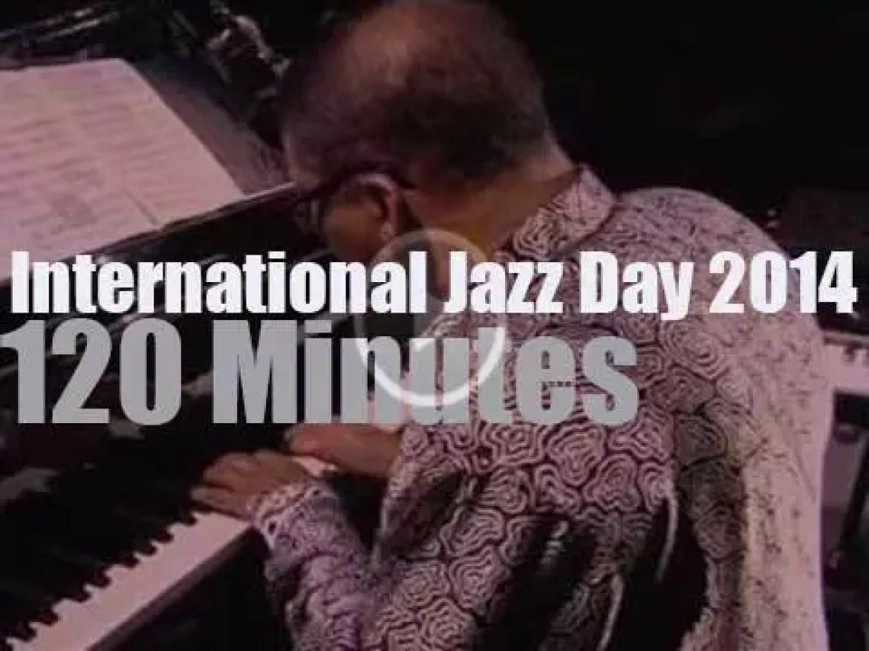 "Third ""International Jazz Day"" takes place in Osaka (2014)"