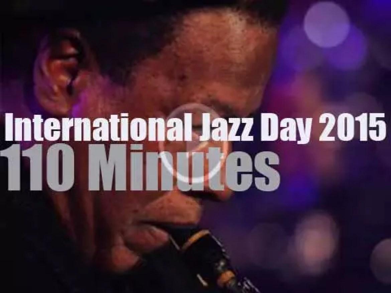 """Fourth """"International Jazz Day"""" is in Paris (2015)"""