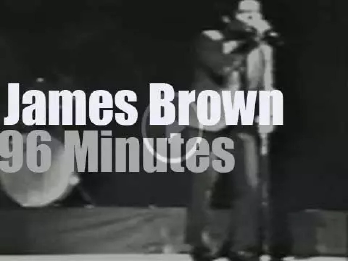 James Brown concert is not cancelled (1968)