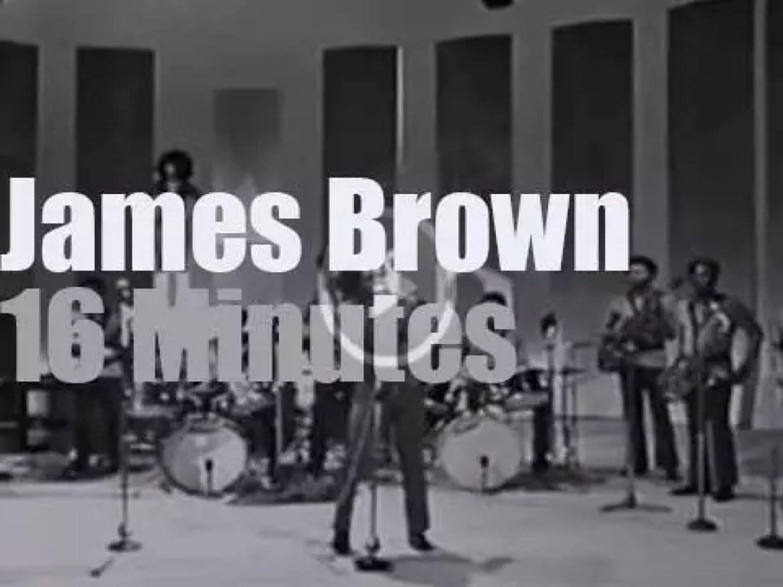 James Brown on Italian TV (1971)