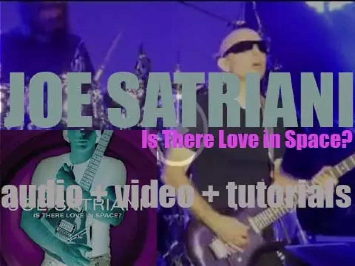 Epic publish Joe Satriani's tenth album : 'Is There Love in Space?' (2004)