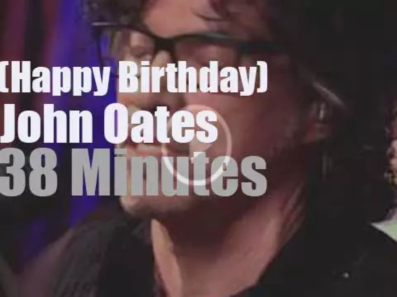 Happy Birthday John Oates