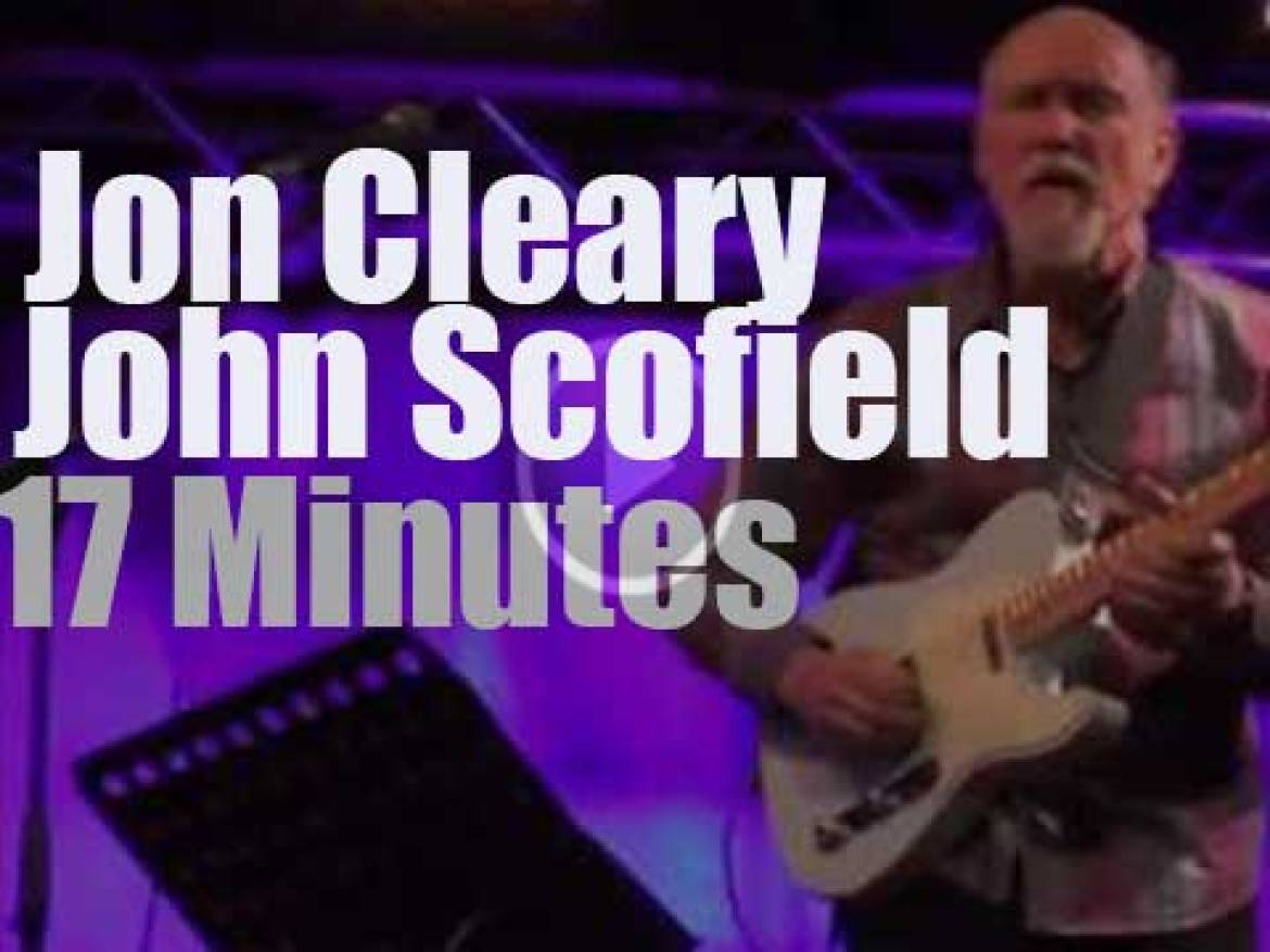 Jon Cleary & John Scofield together in Paris (2015)