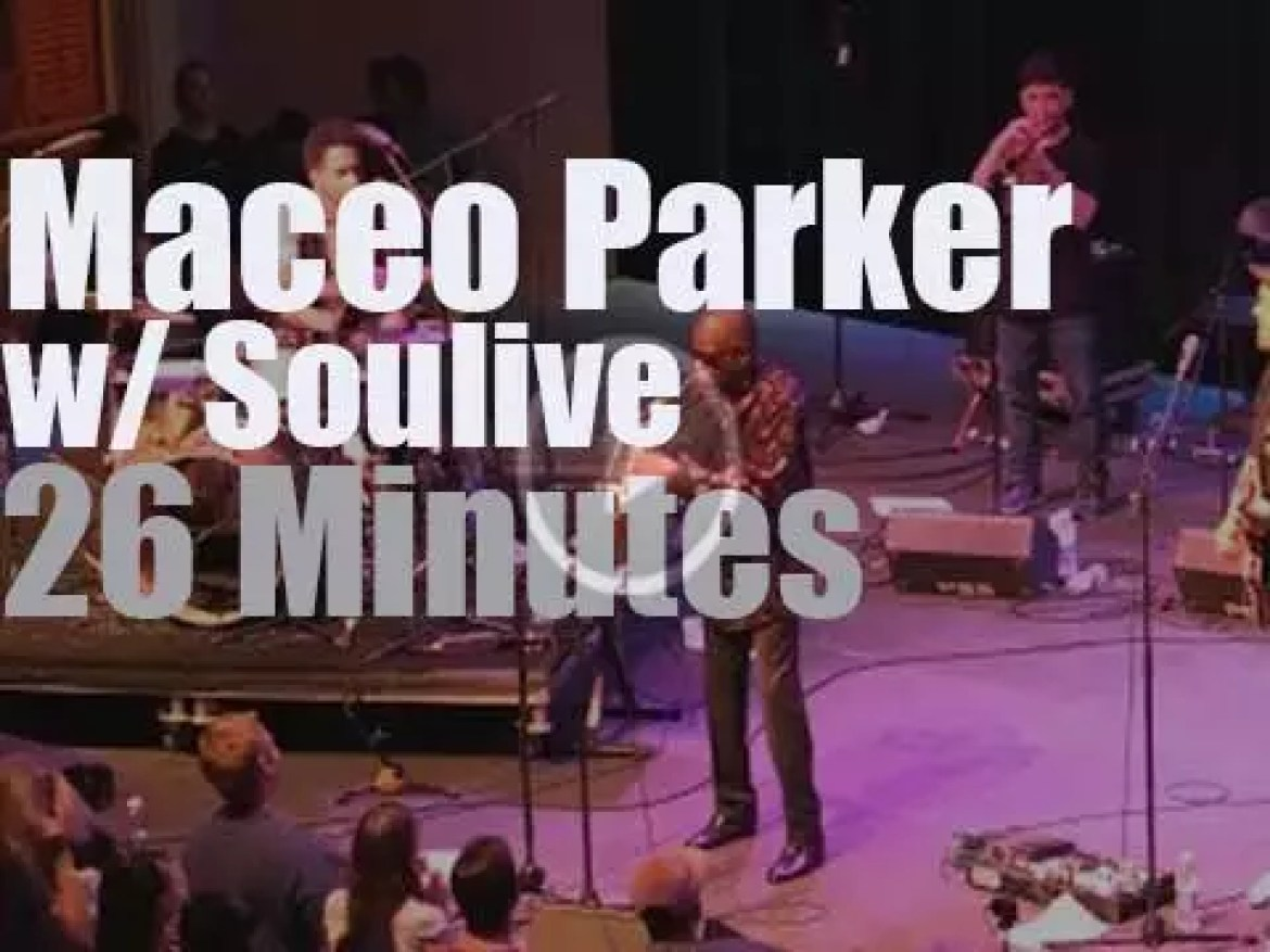 Maceo Parker joins Soulive in New Orleans (2016)
