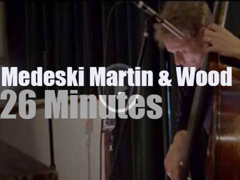 Medeski Martin & Wood on a Portland radio (2013)