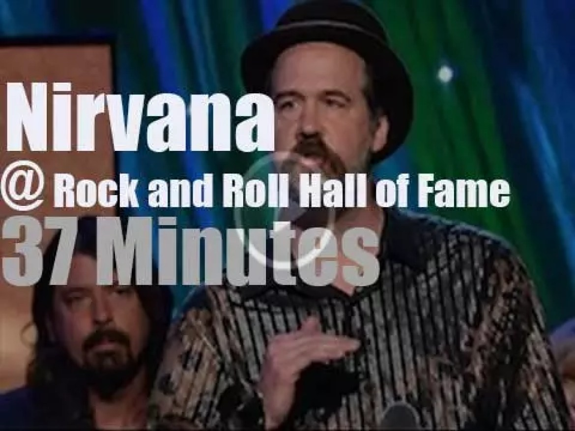 Nirvana Rock & Roll Hall of Fame Inductee (2014)