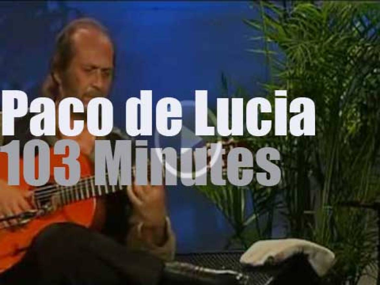 Paco de Lucia plays in  Burghausen (2004)