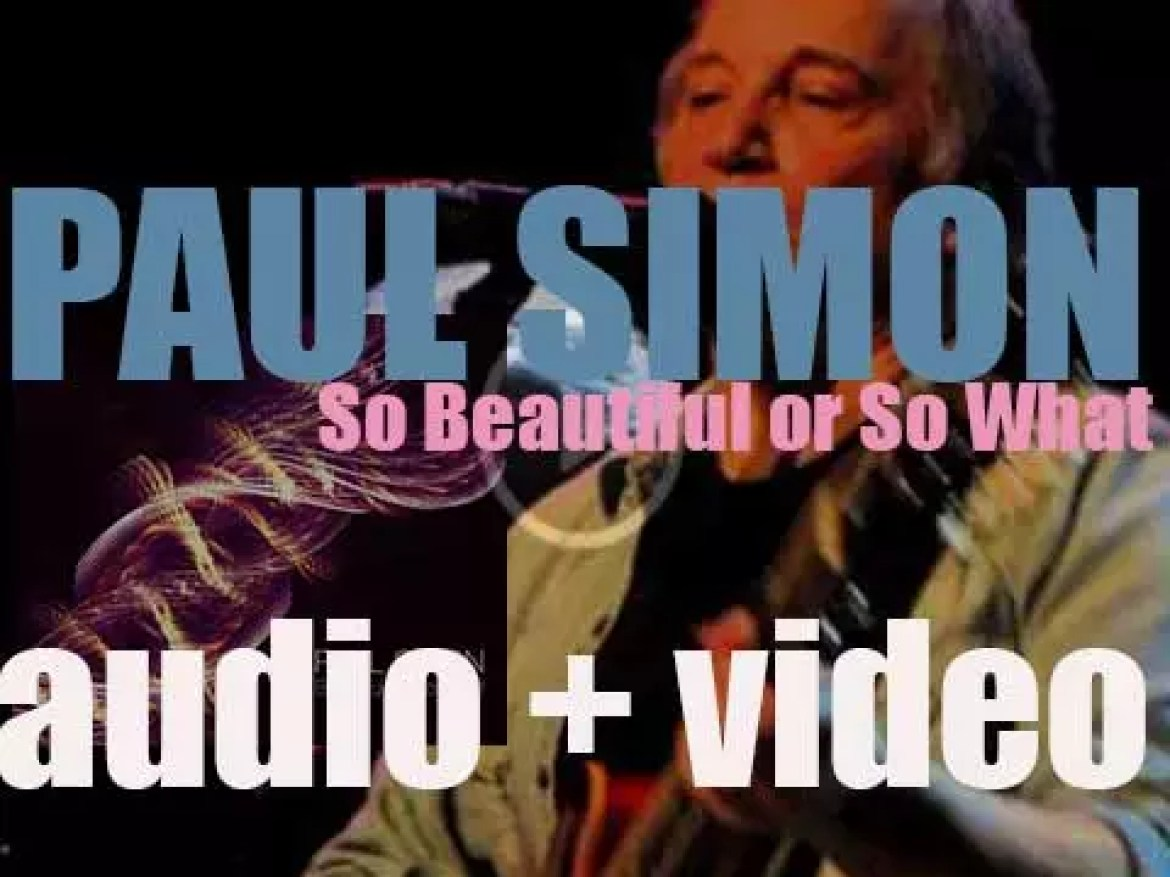 Paul Simon releases 'So Beautiful or So What,' his twelfth album (2011)