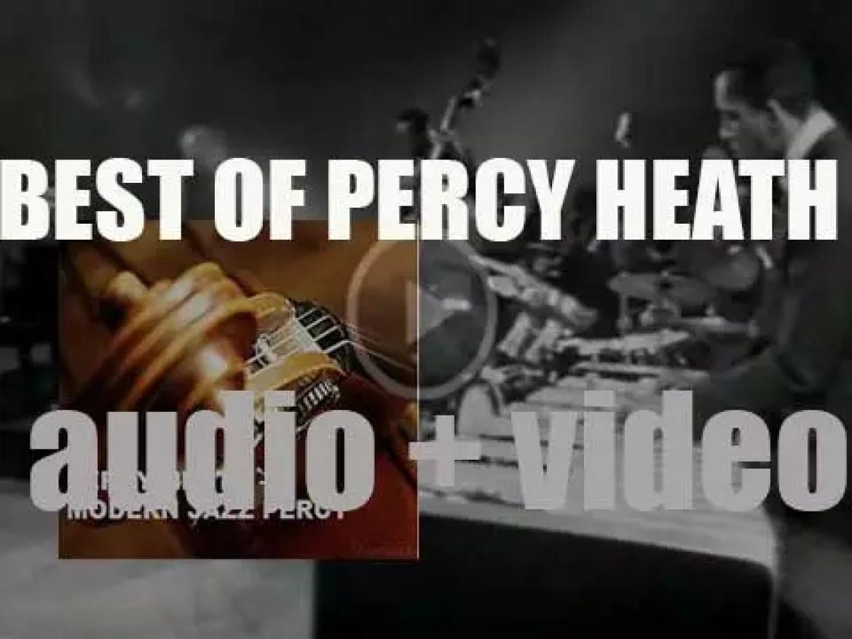 We remember Percy Heath from the Modern Jazz Quartet. 'Modern Jazz Percy'