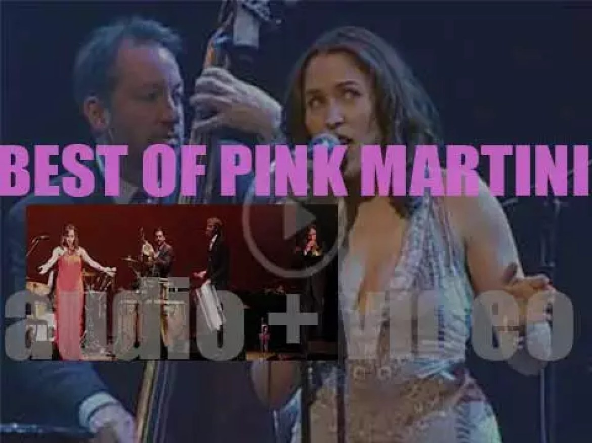 Happy Birthday China Forbes. The Perfect day for a 'Pink Martini at their Best'