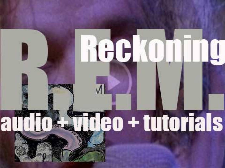 R.E.M. release their second album 'Reckoning' (1984)