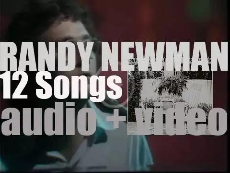 Reprise publish Randy Newman's second album : '12 Songs' (1970)