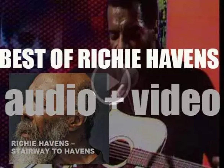 We remember Richie Havens. 'Stairway To Havens'