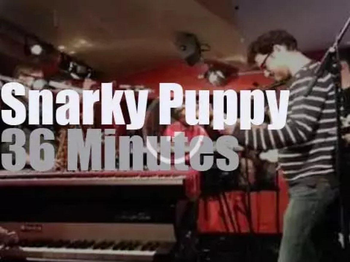 Snarky Puppy are in Hannover (2014)