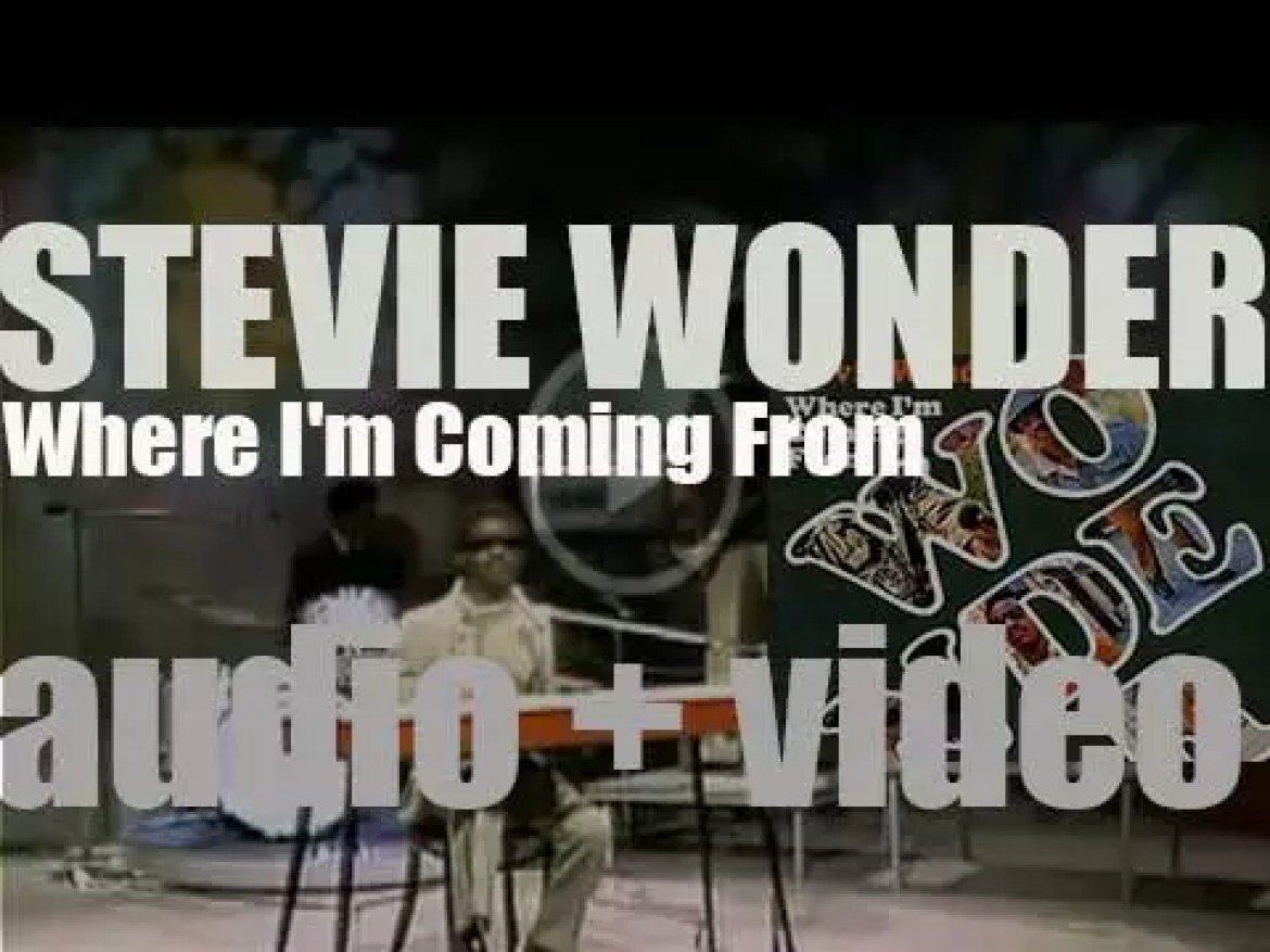 Stevie Wonder releases his thirteenth album 'Where I'm Coming From' co-written with  Syreeta Wright (1971)