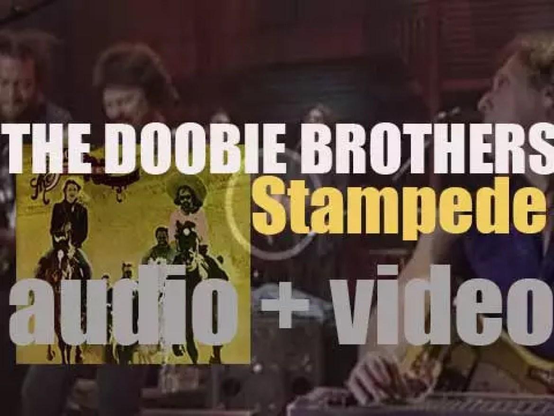 The Doobie Brothers release 'Stampede,' their fifth album on Warner (1975)