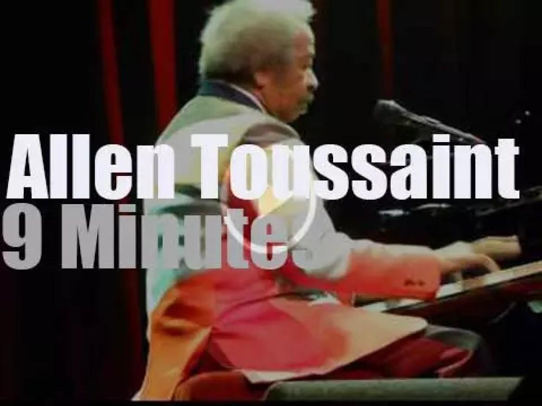 Allen Toussaint plays in Amsterdam (2014)