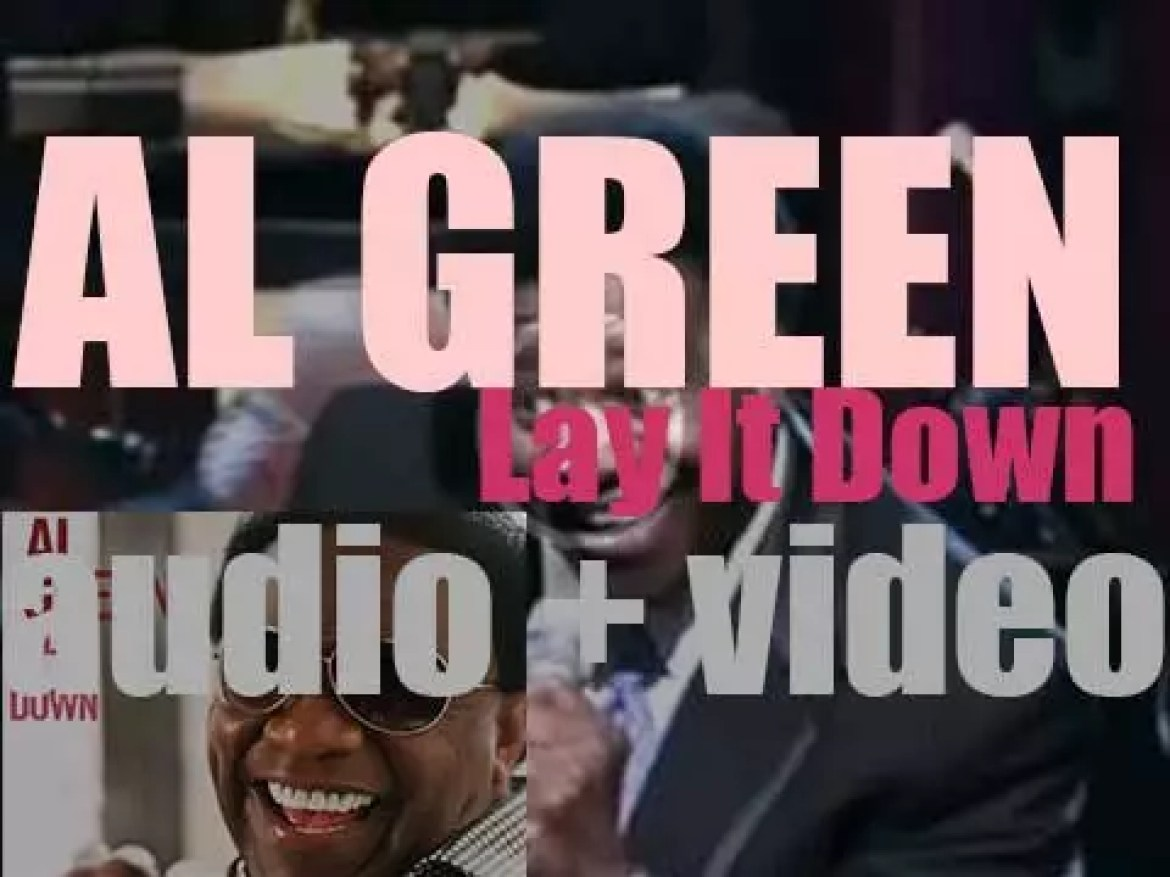 Al Green releases 'Lay It Down' produced by two members of The Roots (2008)