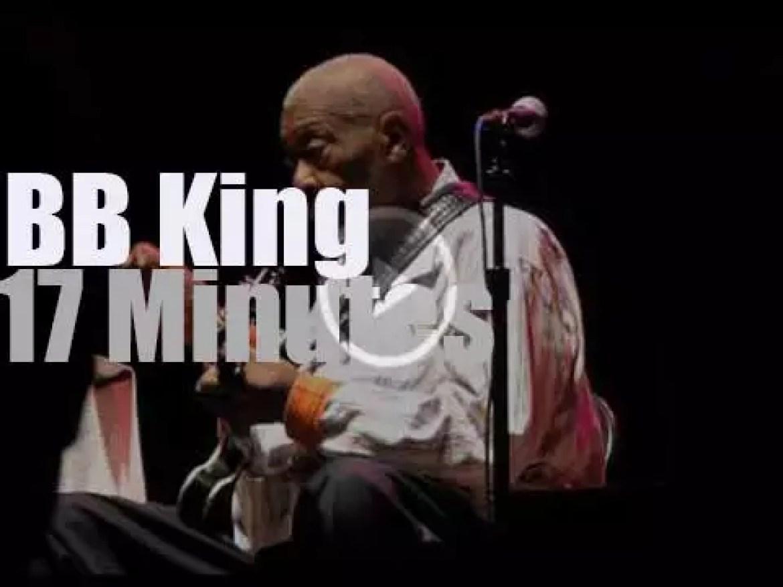 BB King rocks Columbus Ohio (2014)