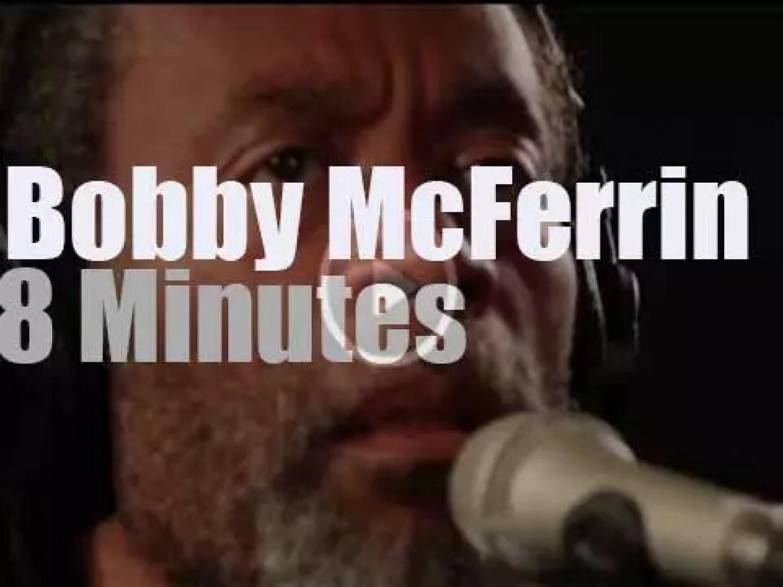 Bobby McFerrin goes live on WFUV (2013)