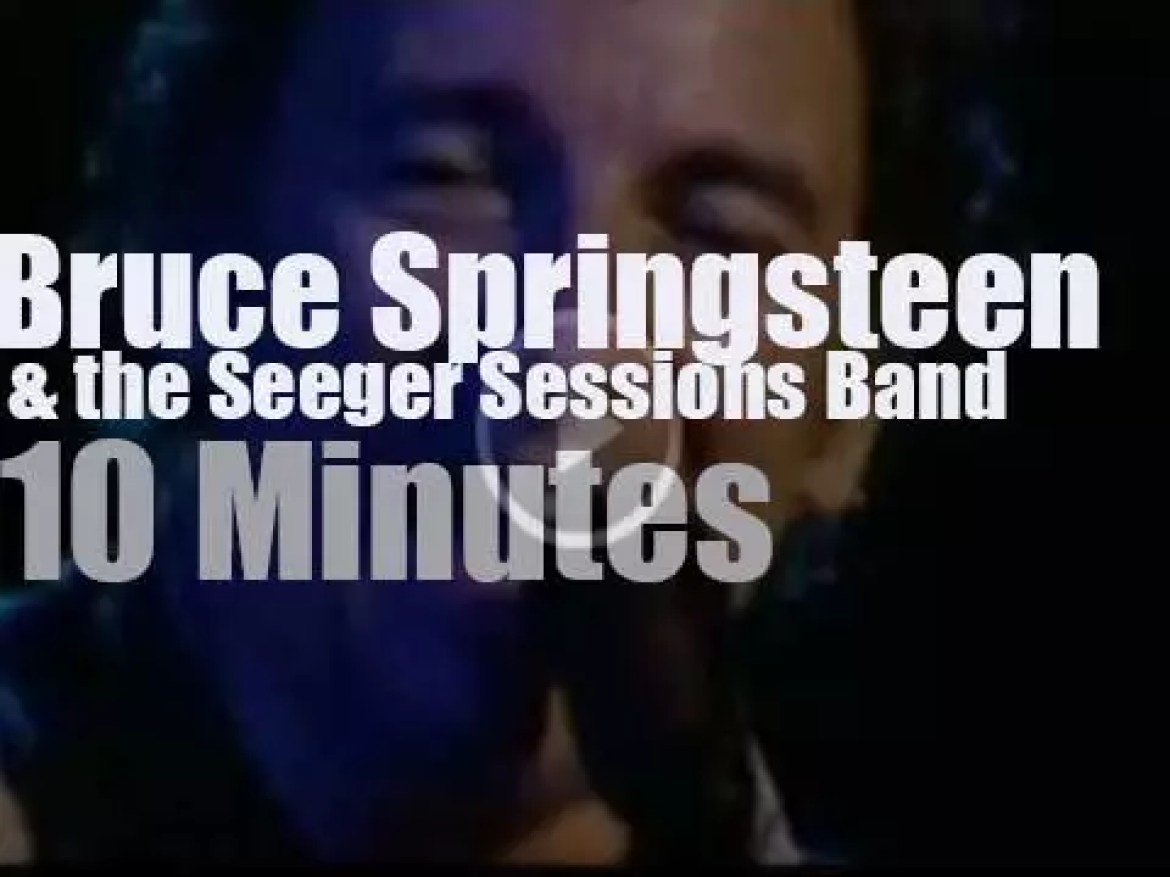 Bruce Springsteen & the Seeger Sessions Band are in Amsterdam (2006)