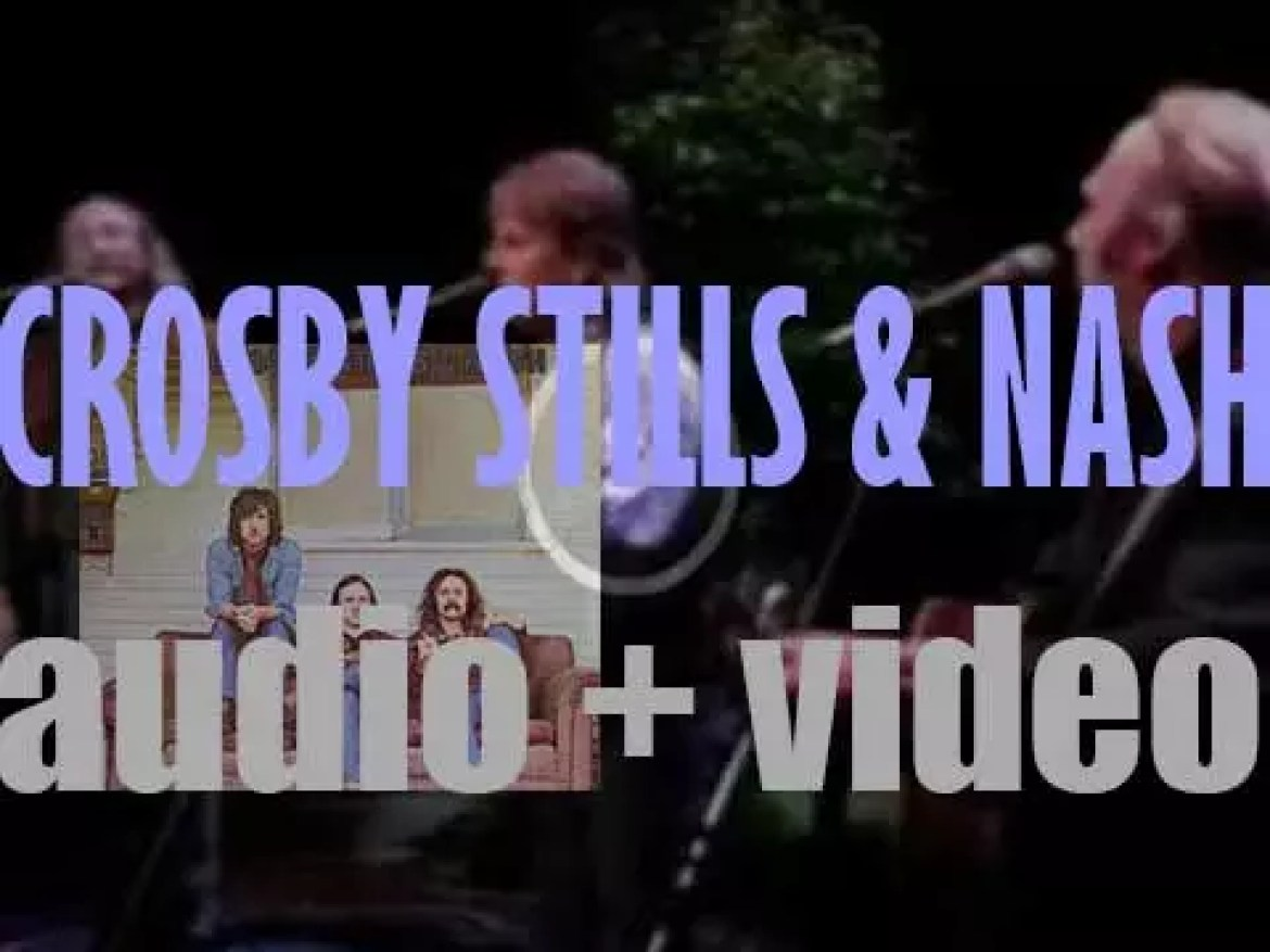 Atlantic publish 'Crosby, Stills & Nash,'  their eponymous debut album featuring 'Suite : Judy Blue Eyes' and 'Marrakesh Express' (1969)
