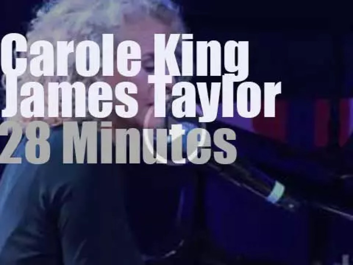 Carole King & James Taylor support Boston after the bombing  (2013)