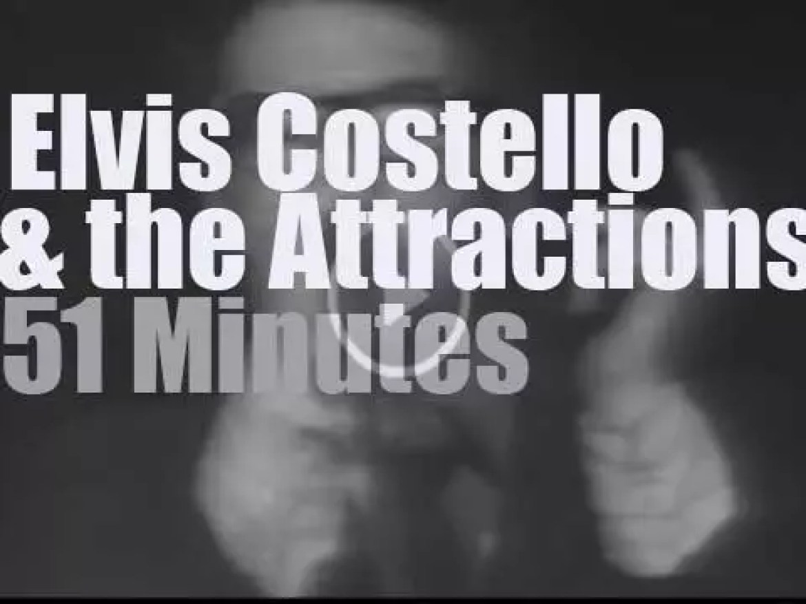 Elvis Costello & the Attractions are in New-Jersey (1978)