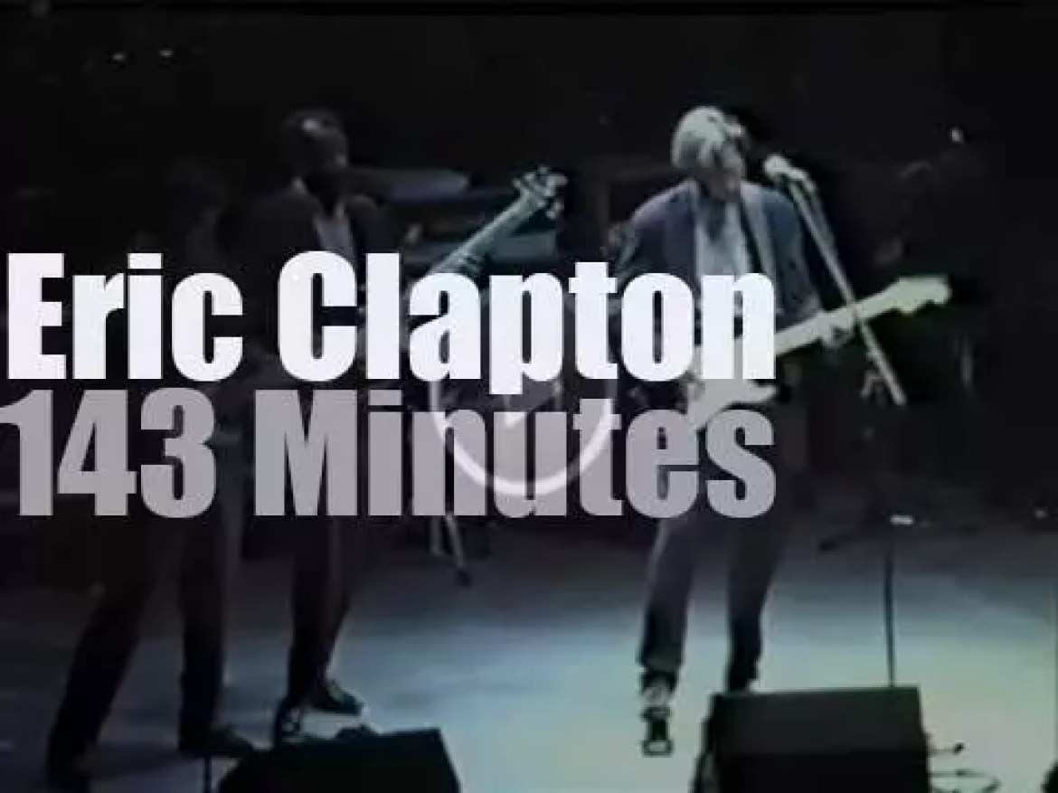 Eric Clapton is in Connecticut (1992)